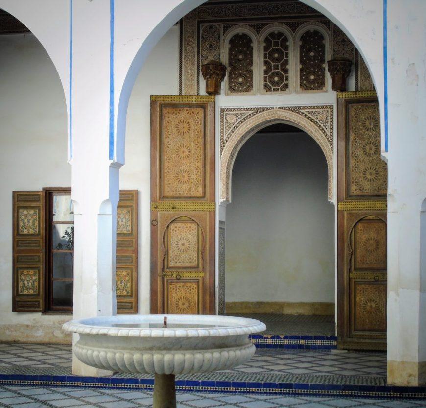 Bahia Palace, Morocco
