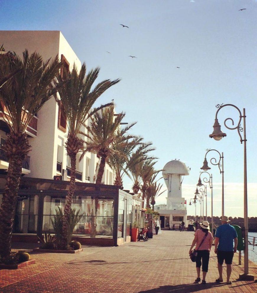 Agadir harbour, Agadir, Morocco