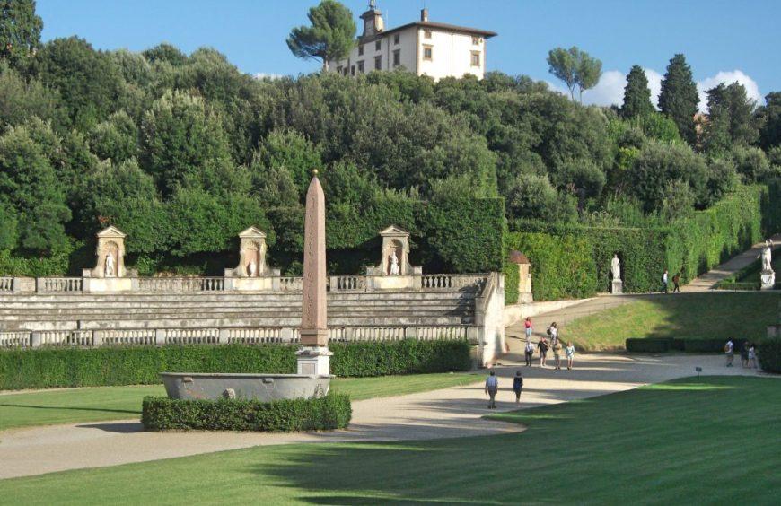 Arena in Boboli Gardens, Florence