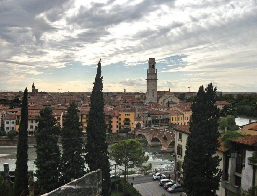 Verona skyline, Verona, Italy
