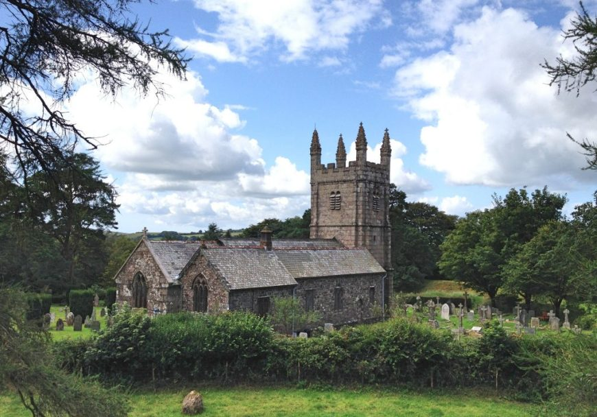 Lydford Church, Devon