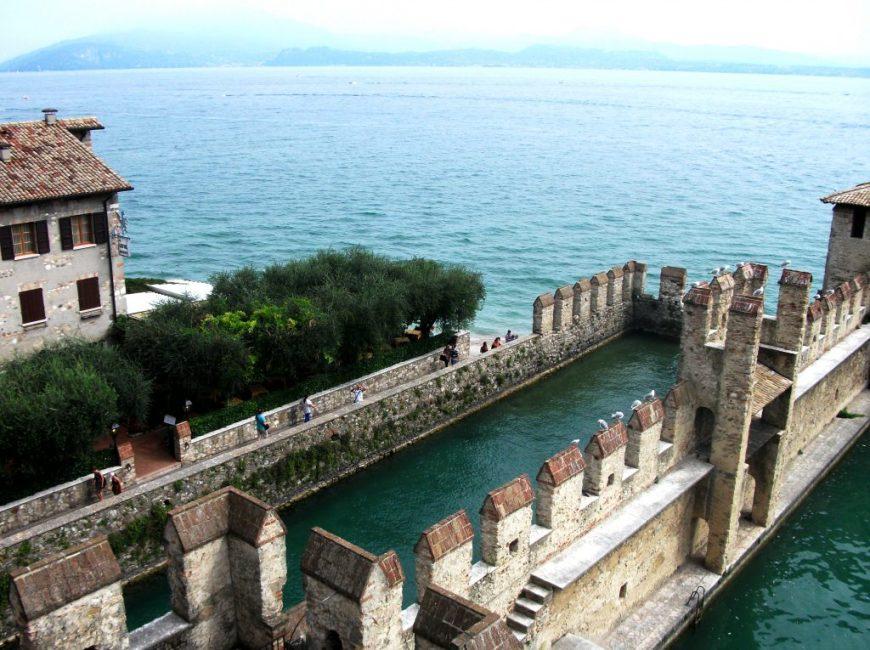 Rocca Scaligera Di Sirmione, Lake Garda, Italy