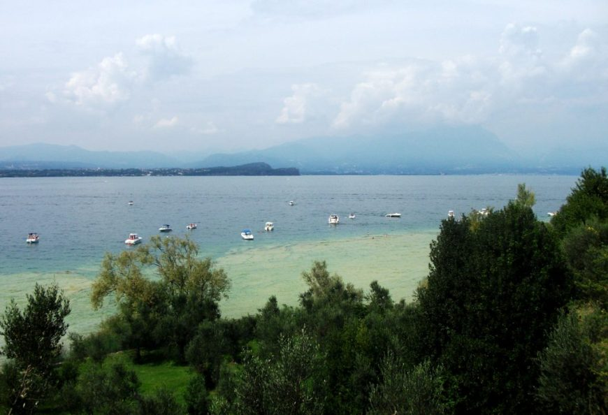 Spiaggia Lido Delle Bionde, Sirmione, Lake Garda, Italy