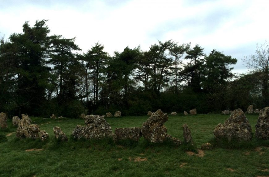 Rollright Stones, Cotswolds, England