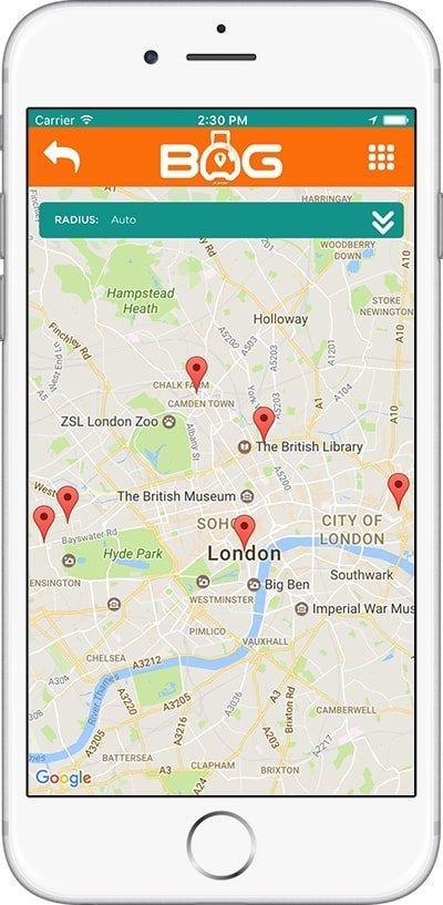 BagAPP - Screenshot 2