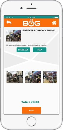 BagAPP - Screenshot 3