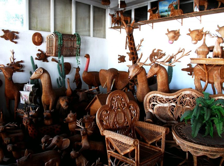 Camacha Wicker Factory, Madeira