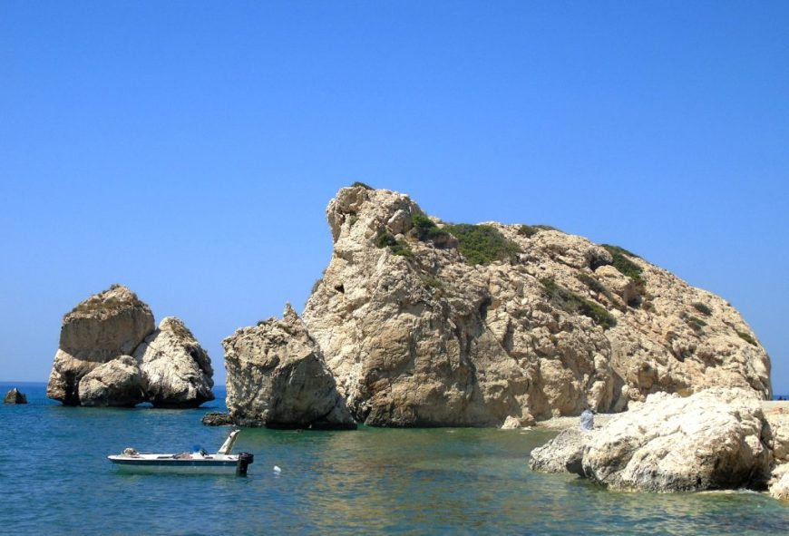 Best Beaches in Cyprus: Petra Tou Romiou