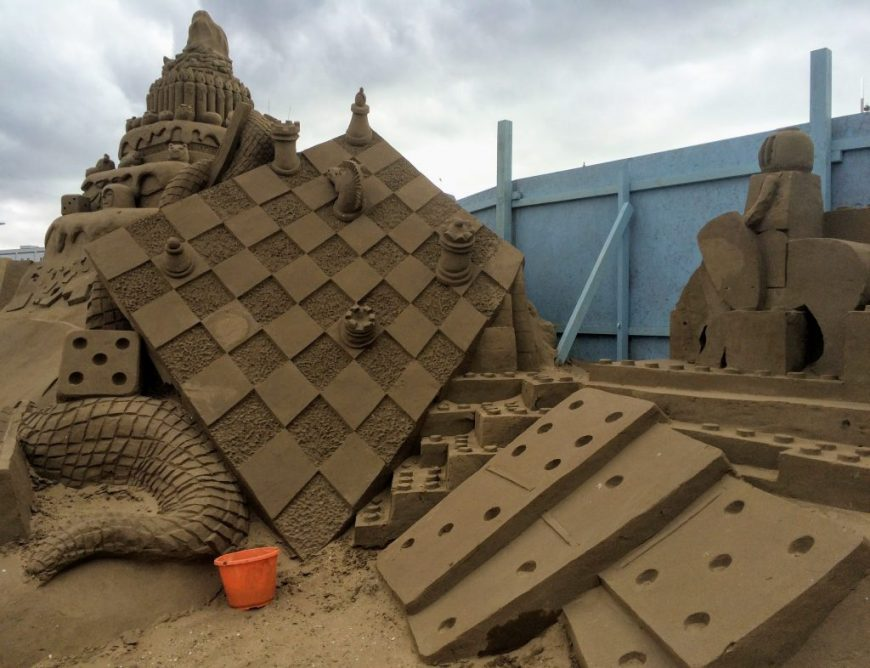 Sand Sculptures, Weston-Super-Mare