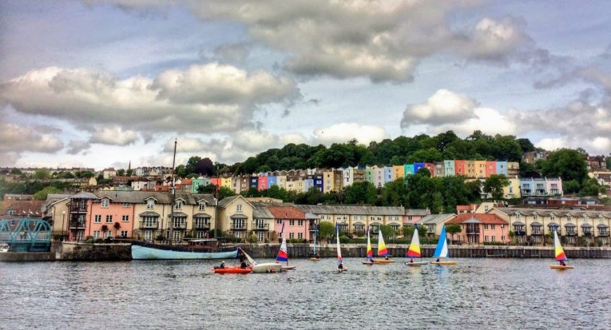 Windsurfing, Bristol Harbourside