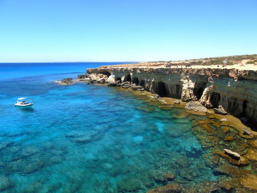 Best Beaches in Cyprus: Sea Caves, Ayia Napa, Cyprus