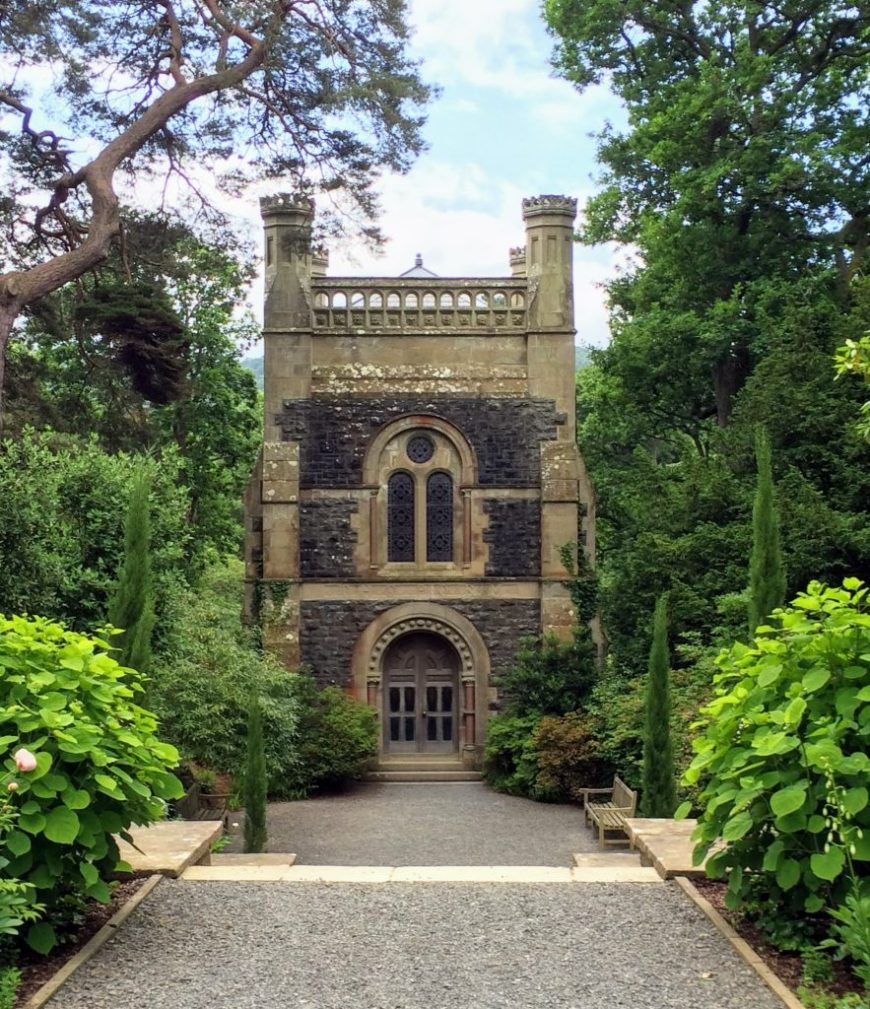National Trust Dog Friendly Places: Dogs are welcome daily at Bodnant Gardens in Wales, from January to March, and from October to December. Throughout April to September, dogs are allowed on Wednesday evenings only.