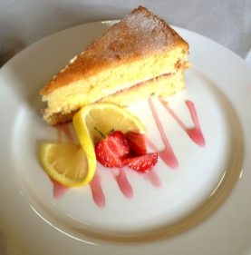 Lemon Drizzle Cake at The Jane Austen Centre