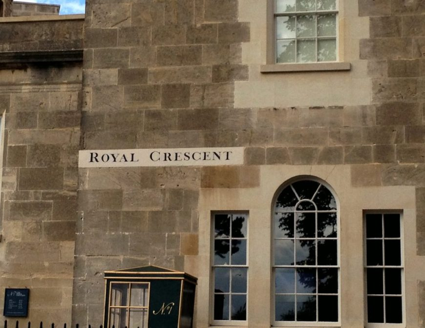Royal Crescent Sign