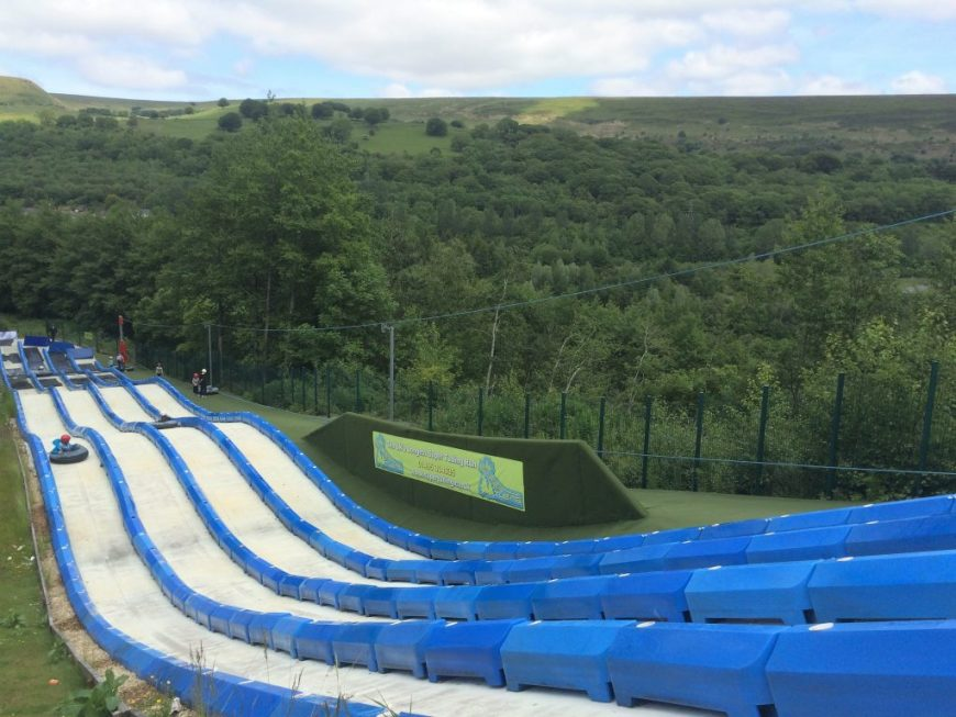 Super Slides in Wales