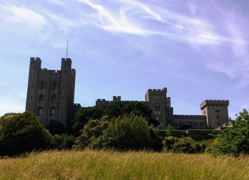 National Trust Dog Friendly Places: Dogs are welcome on leads in the grounds at Penrhyn Castle in Wales.