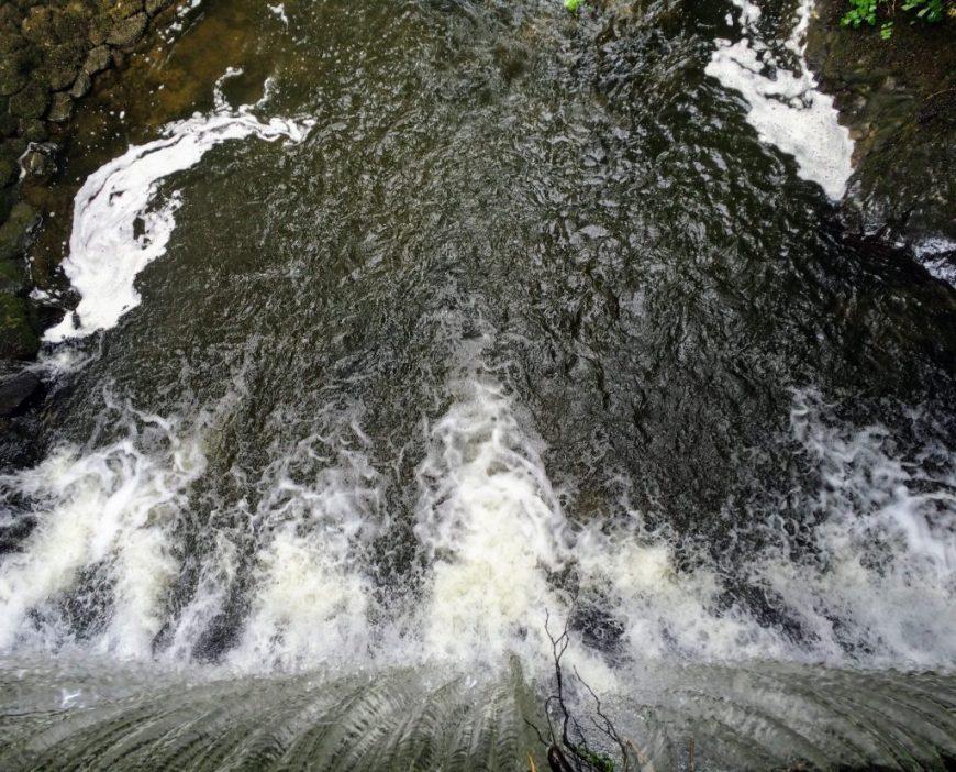 Waterfalls at Bodnant Gardens