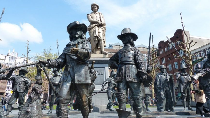Amsterdam Statues