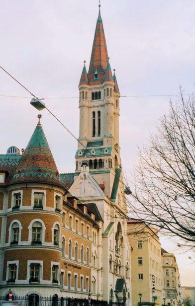Fairytale buildings in Vienna