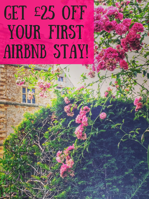 Get £25 off your first Airbnb stay!