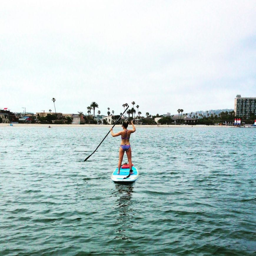 San Diego - Paddleboarding