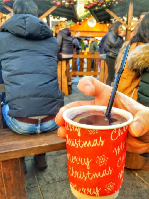 Bristol German Christmas Market Mulled Wine
