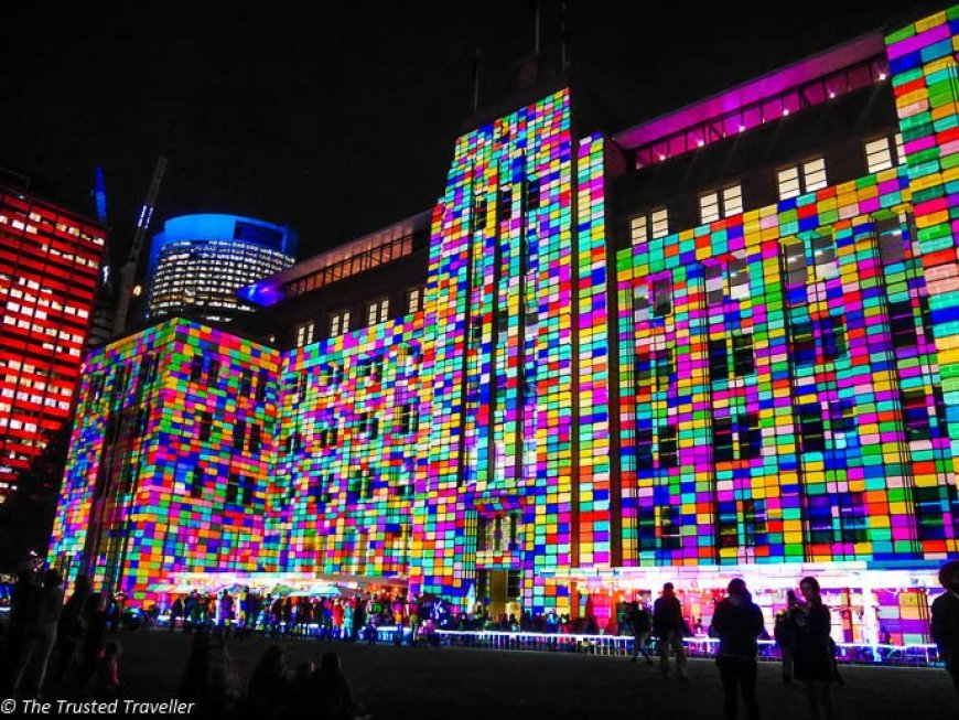 Vivid Festival, one of Sydney's biggest yearly events