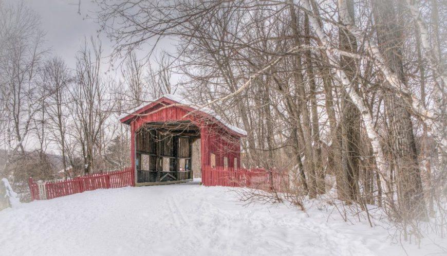 Covered Bridge, Vermont, USA