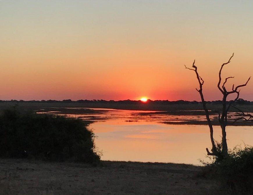 Chobe_Botswana_Sunset