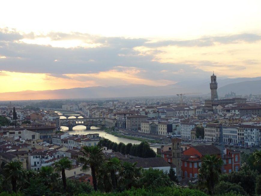 Florence_sunset