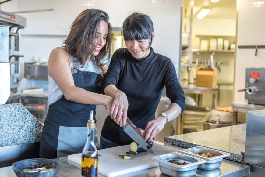 Laurie Vaquer - Take Me Cooking experience