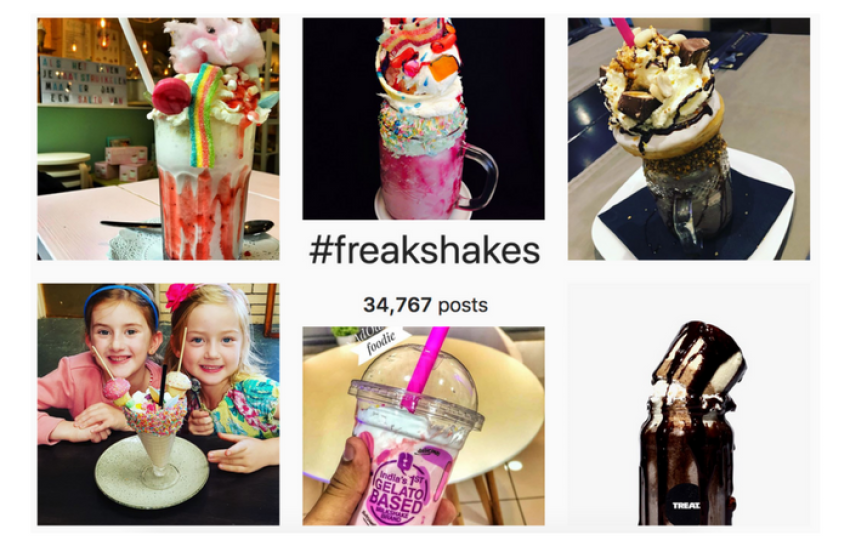 Freak Shakes Instagram