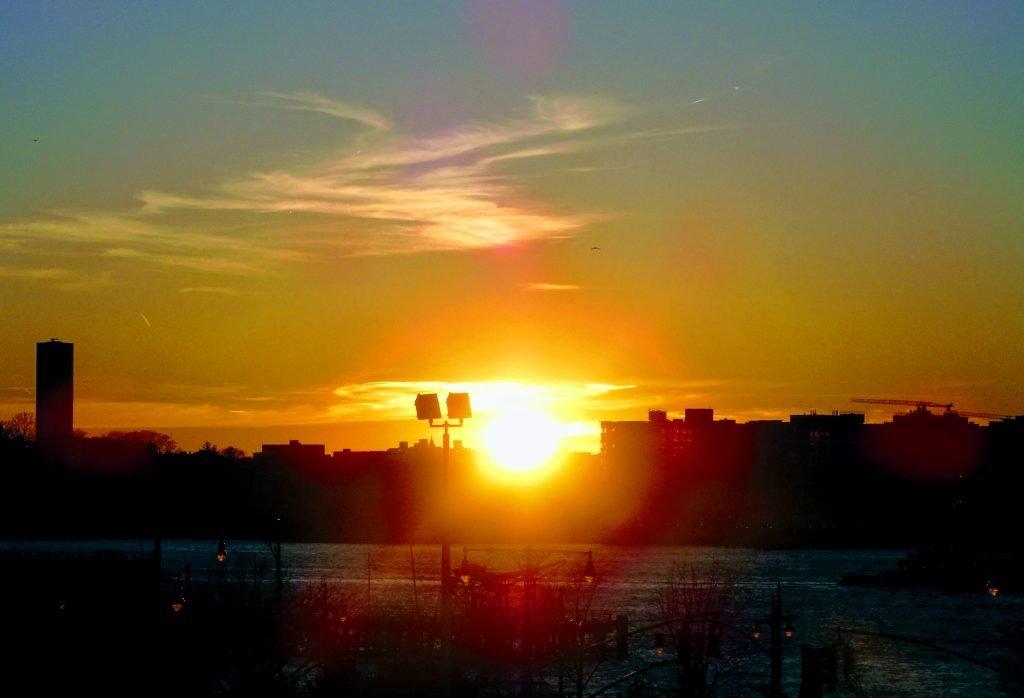 High Line Sunset