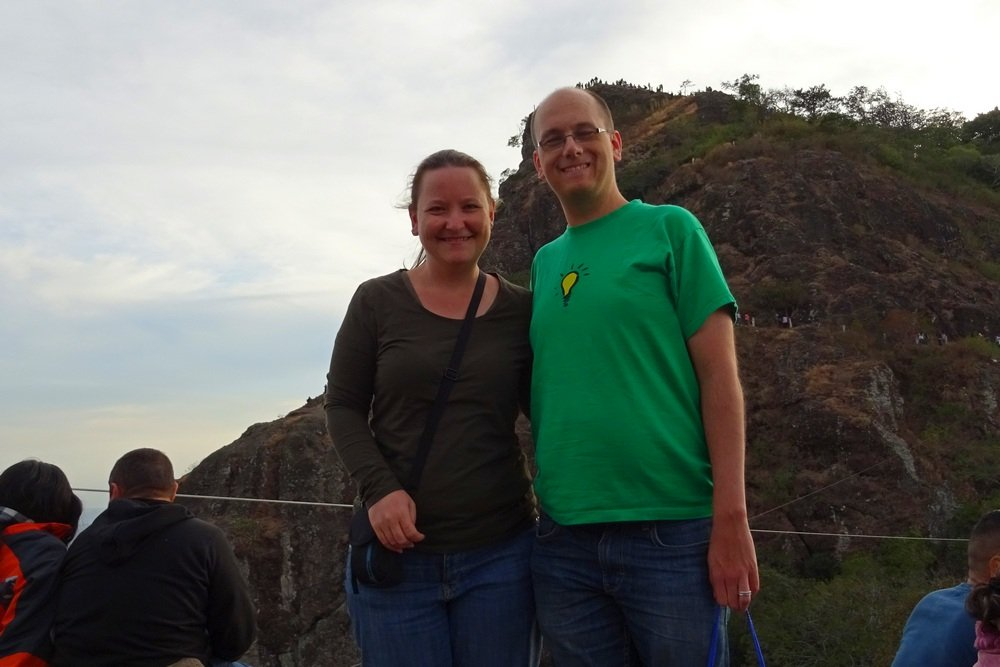 Ali & Andy in El Salvador
