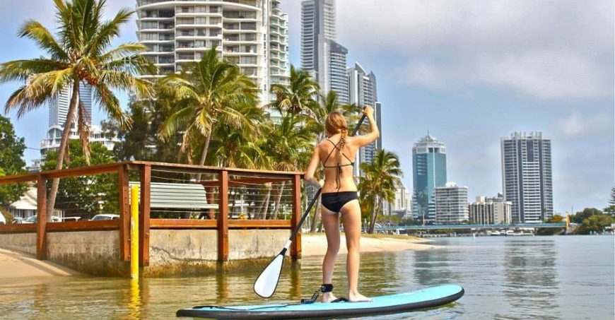 Stand-Up-Paddle-Boarding-Budds-beach-Gold-Coast