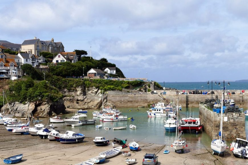 Things to do in Newquay: Watch fishing boats at the Harbour