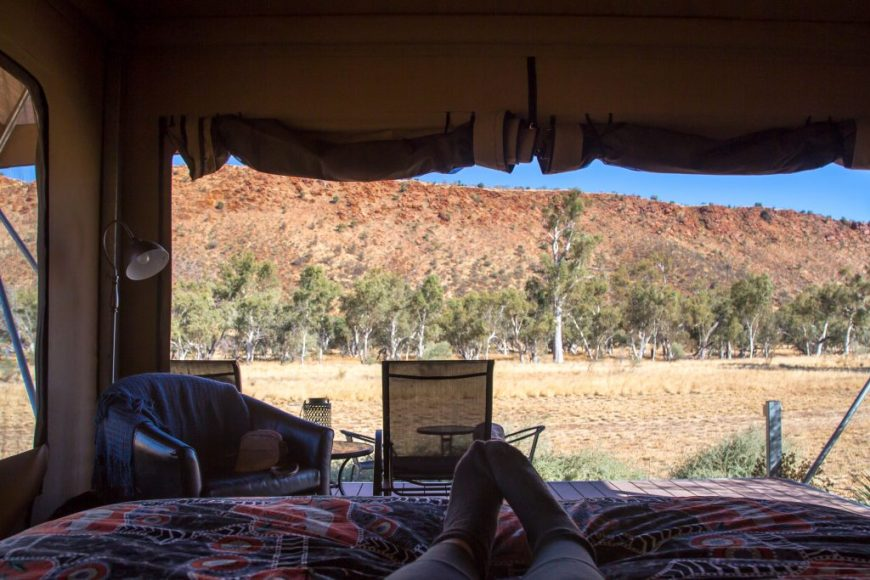 Australia Airbnb: Squeaky Windmill, Alice Springs, Australia