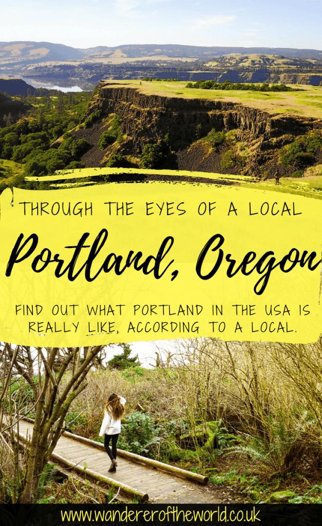 Through The Eyes Of A Local: Portland, Oregon