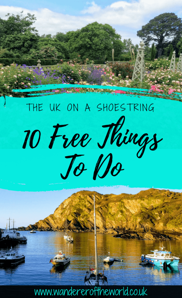 Visiting the UK on a Shoestring: 10 Free Things To Do