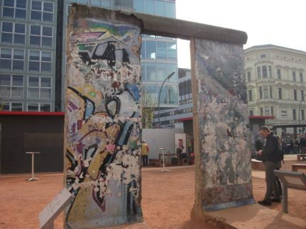Berlin Wall fragments