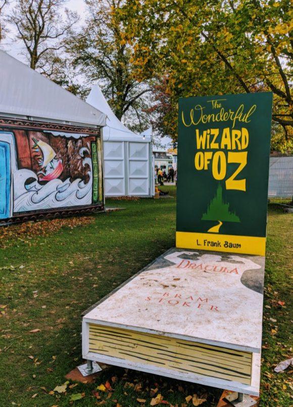Cheltenham Literature Festival Props