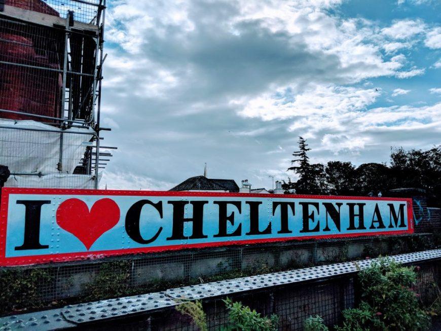 Street art in Cheltenham