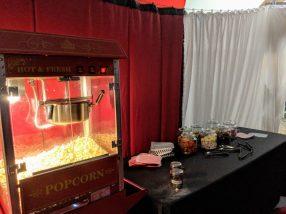 VIP popcorn at Fear, Avon Valley