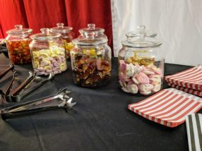 VIP sweets at Fear, Avon Valley
