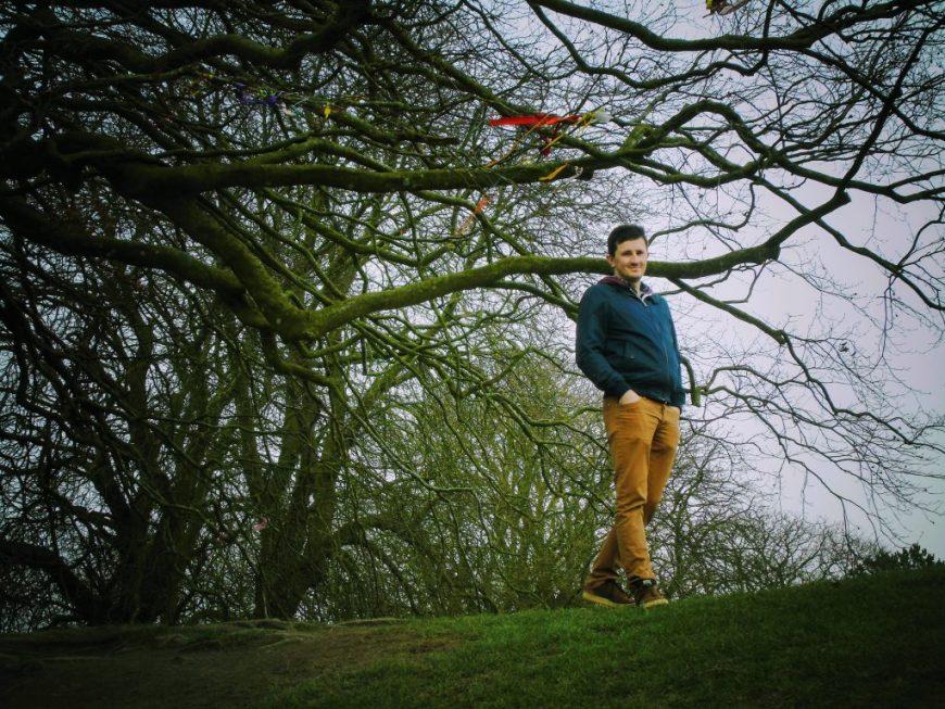 Scott at Avebury