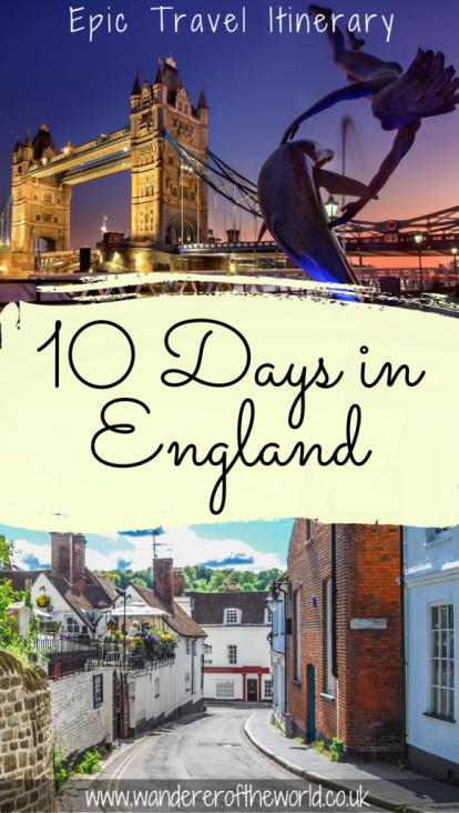 UK Trip Itinerary: Travel Around the UK in 10 Days