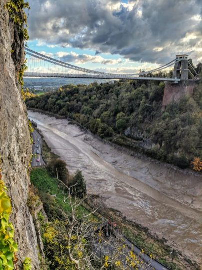 Clifton Suspension Bridge & Avon Gorge