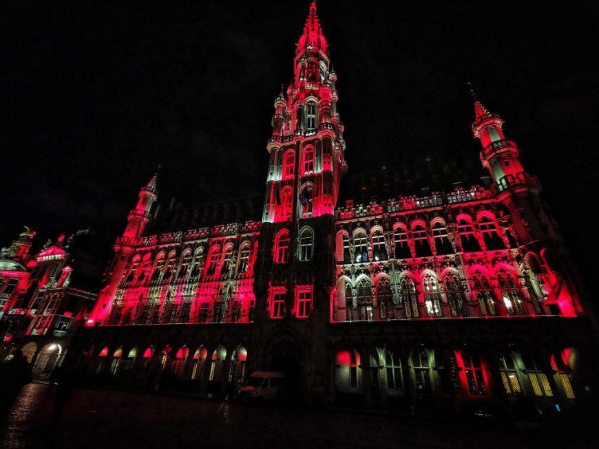 Hotel de Ville Christmas Lights