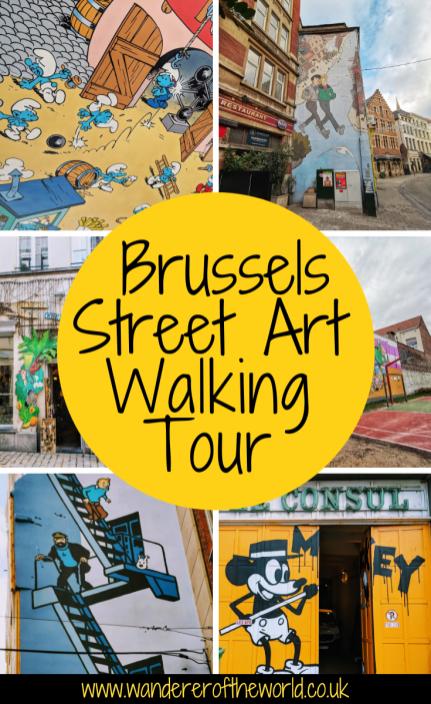 Brussels Street Art Self-Guided Walking Tour