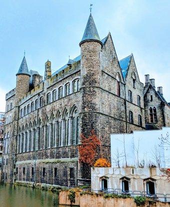 Geeraard de Duivelsteen in Ghent, Belgium